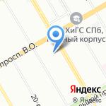 Палфорд на карте Санкт-Петербурга