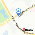 Долгоозерная 31 на карте Санкт-Петербурга
