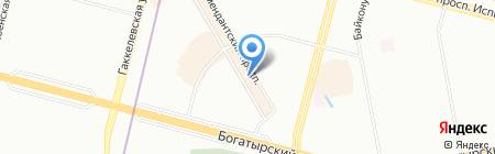 Наша мебель на карте Санкт-Петербурга