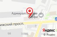 Схема проезда до компании ДомФаворит в Пскове