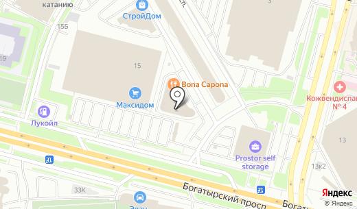 Дэлек. Схема проезда в Санкт-Петербурге