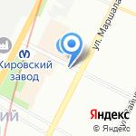 Asti на карте Санкт-Петербурга