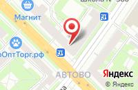 Схема проезда до компании Благовещение в Санкт-Петербурге