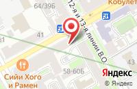 Схема проезда до компании Фалунь Дафа в Санкт-Петербурге