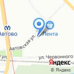 Ремонтная мастерская на карте Санкт-Петербурга