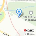 Метрохим на карте Санкт-Петербурга