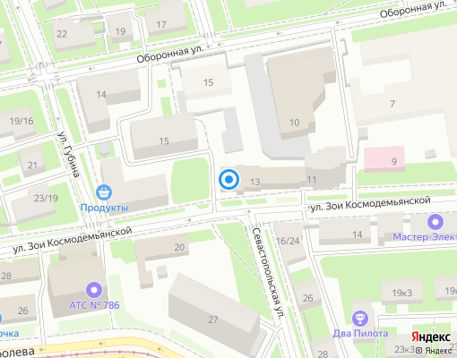 Управляющая компания «ЖКС №2 Кировского района» на карте Санкт-Петербурга