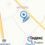 Шаг от дома на карте Санкт-Петербурга