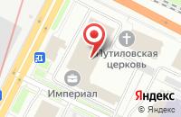Схема проезда до компании Арована в Санкт-Петербурге