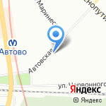 Крипт на карте Санкт-Петербурга