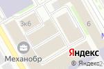 Схема проезда до компании Актекс в Санкт-Петербурге
