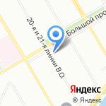 Скаутский на карте Санкт-Петербурга