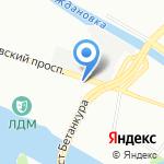 КАНАТ на карте Санкт-Петербурга