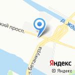 Багира на карте Санкт-Петербурга
