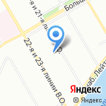 Санкт-Петербургская Ассоциация Рециклинга на карте Санкт-Петербурга