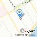 ВиРа на карте Санкт-Петербурга