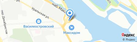 Д-Медфарм на карте Санкт-Петербурга