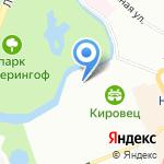 Воздух на карте Санкт-Петербурга