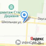 Серебряная Саламандра на карте Санкт-Петербурга
