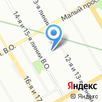 Вольт на карте Санкт-Петербурга