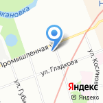 Детский сад №16 на карте Санкт-Петербурга