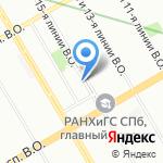 Ювиталь-проект на карте Санкт-Петербурга