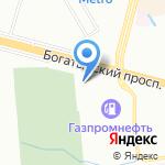 Магазин по продаже автосигнализаций и автозвука на карте Санкт-Петербурга
