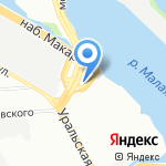 АСТРУМ на карте Санкт-Петербурга
