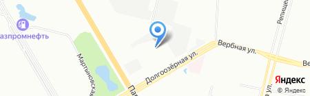 АВРОТРАНС на карте Санкт-Петербурга