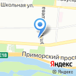 Полимедикор на карте Санкт-Петербурга
