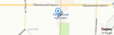 Ханты-Мансийский Банк Открытие на карте Санкт-Петербурга