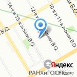 Детская больница №2 Святой Марии Магдалины на карте Санкт-Петербурга