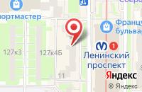 Схема проезда до компании Имаджинейшн в Санкт-Петербурге