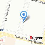 Приморская на карте Санкт-Петербурга