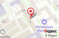 Схема проезда до компании Кирилл и Мефодий в Санкт-Петербурге