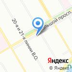 Лаганаки на карте Санкт-Петербурга