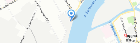 Креатив на карте Санкт-Петербурга