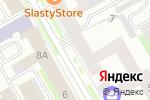 Схема проезда до компании Блюз в Санкт-Петербурге