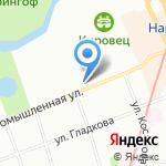 Судотехнология на карте Санкт-Петербурга