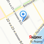 ЭБОЛИ на карте Санкт-Петербурга