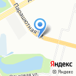 TRD мастер на карте Санкт-Петербурга