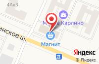 Схема проезда до компании Парикмахерская в Малом Карлино