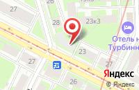 Схема проезда до компании Grigio в Ярославле