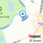 PitStop на карте Санкт-Петербурга