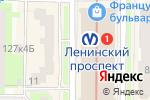 Схема проезда до компании Точка Зрения в Санкт-Петербурге