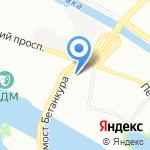 Скайрос на карте Санкт-Петербурга