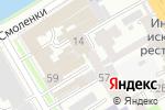 Схема проезда до компании БФГ в Санкт-Петербурге