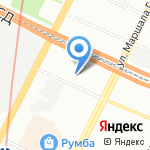 Нордвилла на карте Санкт-Петербурга