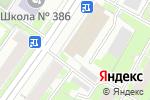 Схема проезда до компании АлмазБурСтрой в Санкт-Петербурге