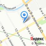Жасмин на карте Санкт-Петербурга